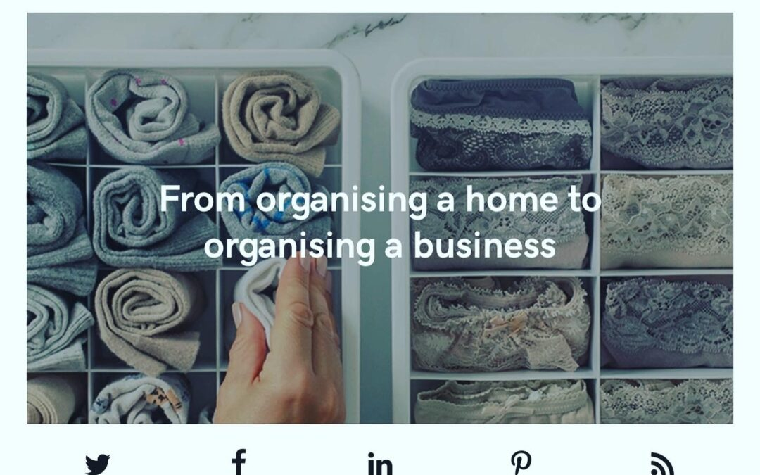 The Life Organiser's feature with GoDaddy UK