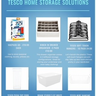 My top home storage finds at Tesco