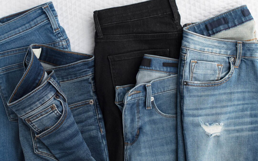 4 smart and crease free ways to store your jeans