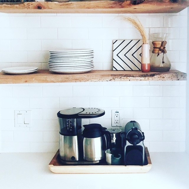 """Creating a """"Coffee Station"""" in your kitchen"""